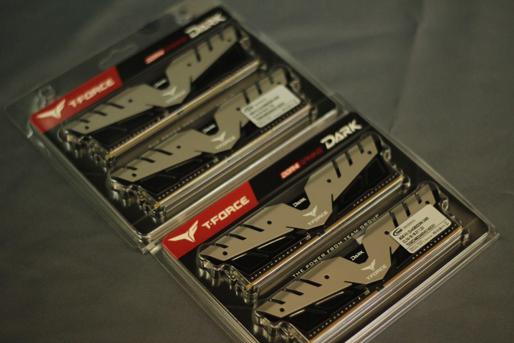 T-Force DDR4 Gaming DARK RAM 2400 – GamingPH com