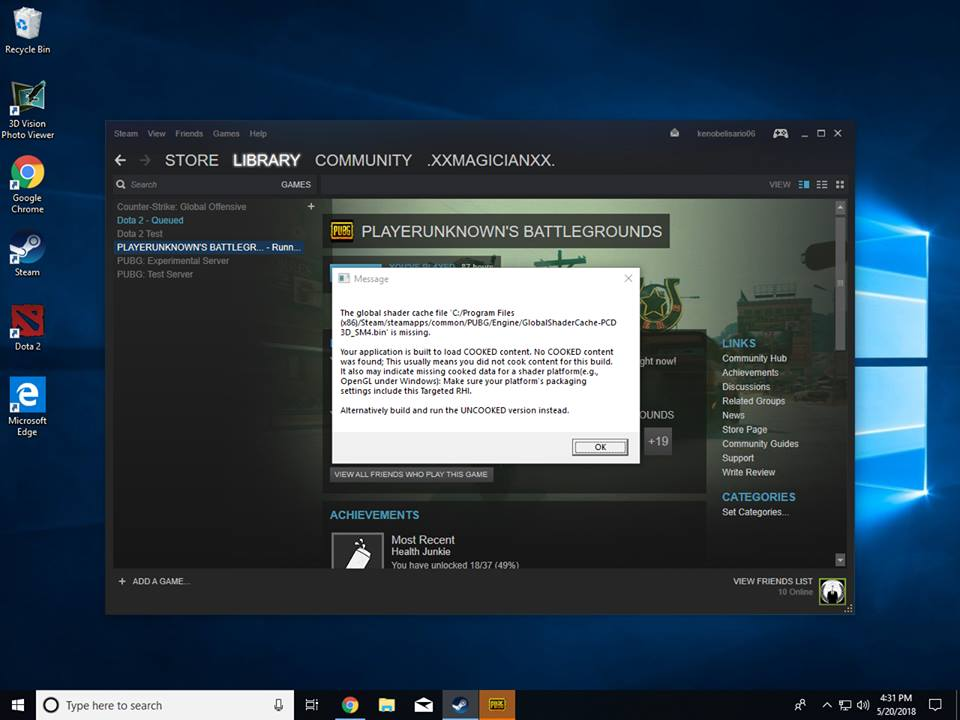 How to Run and Fix Uncooked Version Error in PUBG – GamingPH com