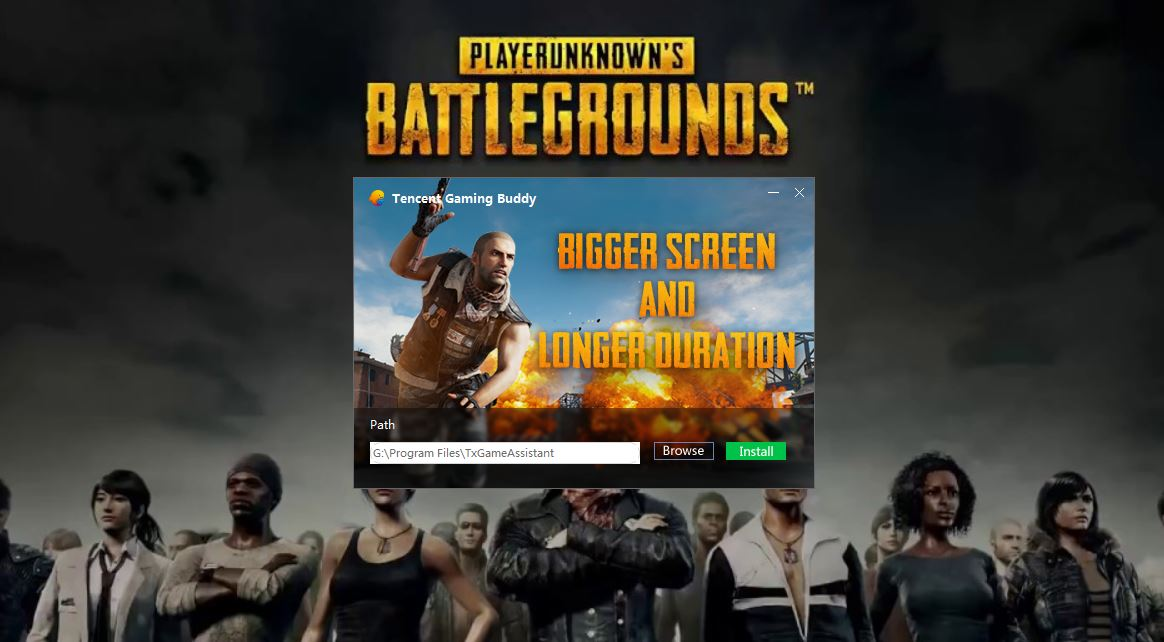 Tencent Release an Official PUBG Mobile Emulator for PC