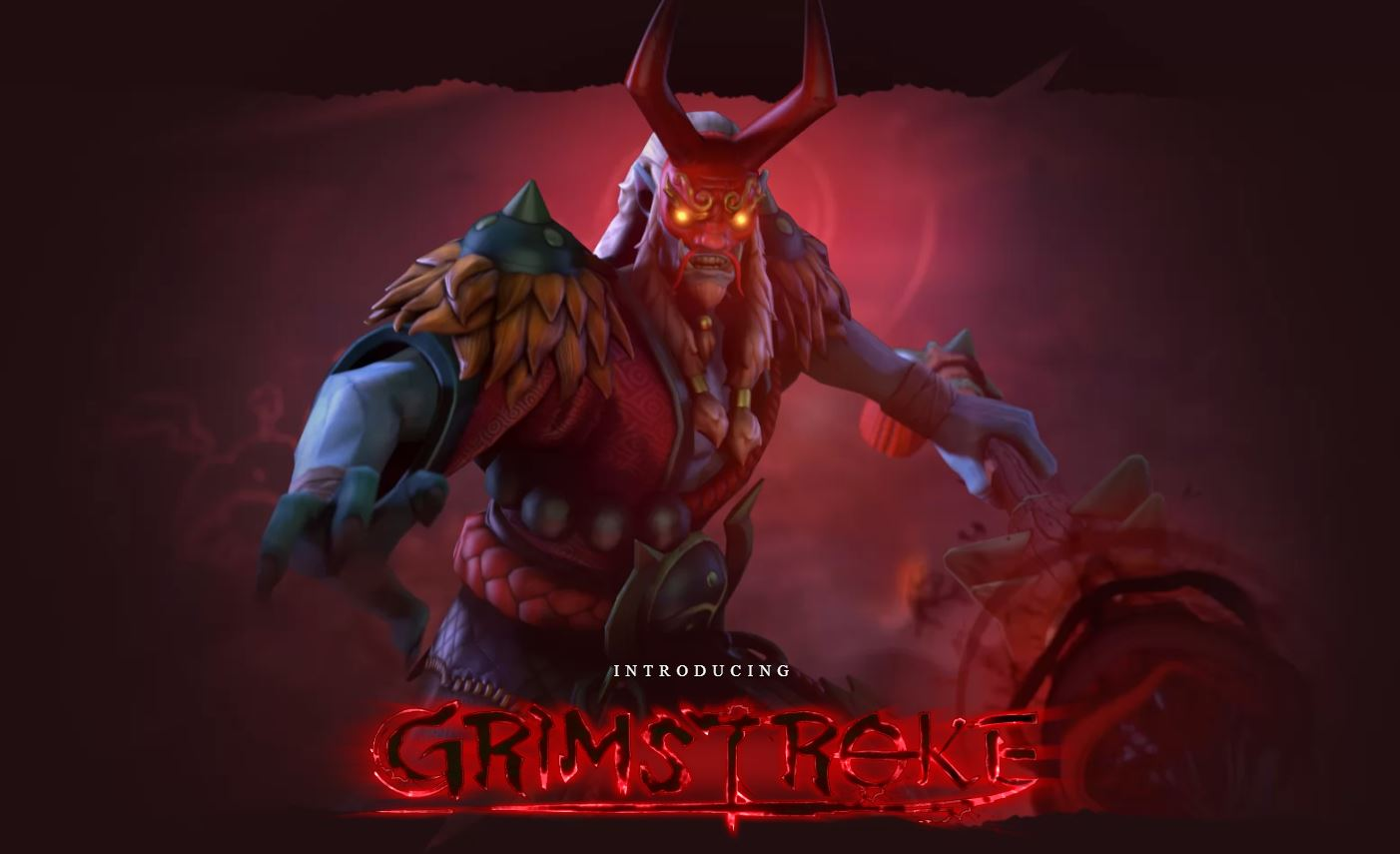 A New Challenger in Dota 2 just Arrived, Grimstroke