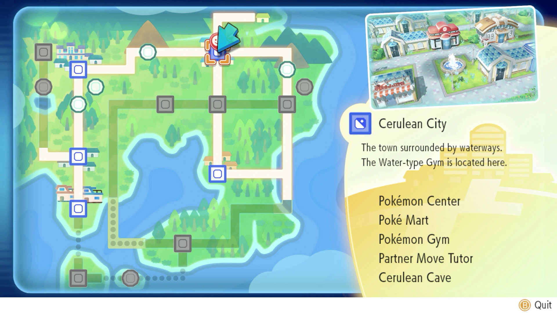 All Pokemon Map Location in Pokemon Let's Go Pikachu, Eevee