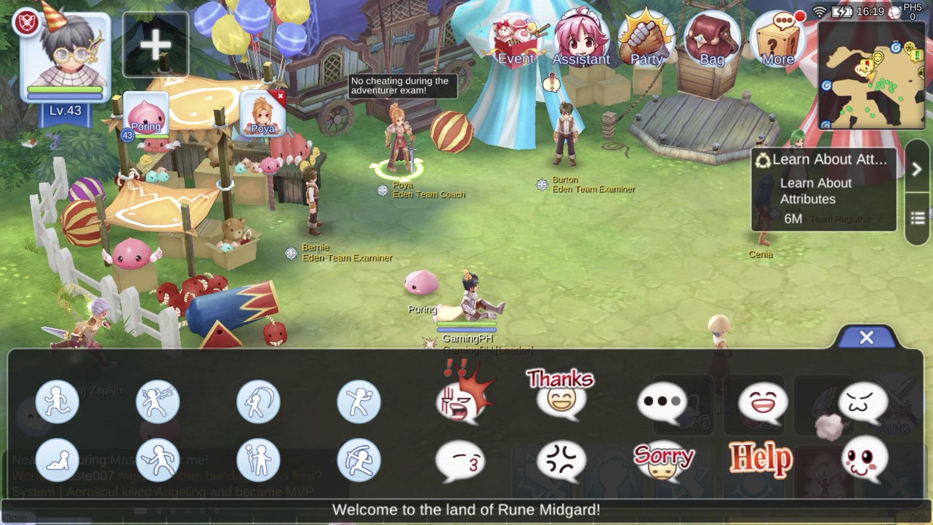 How To Sit Down Emoji Poses In Ragnarok M Eternal Love Gamingph Com