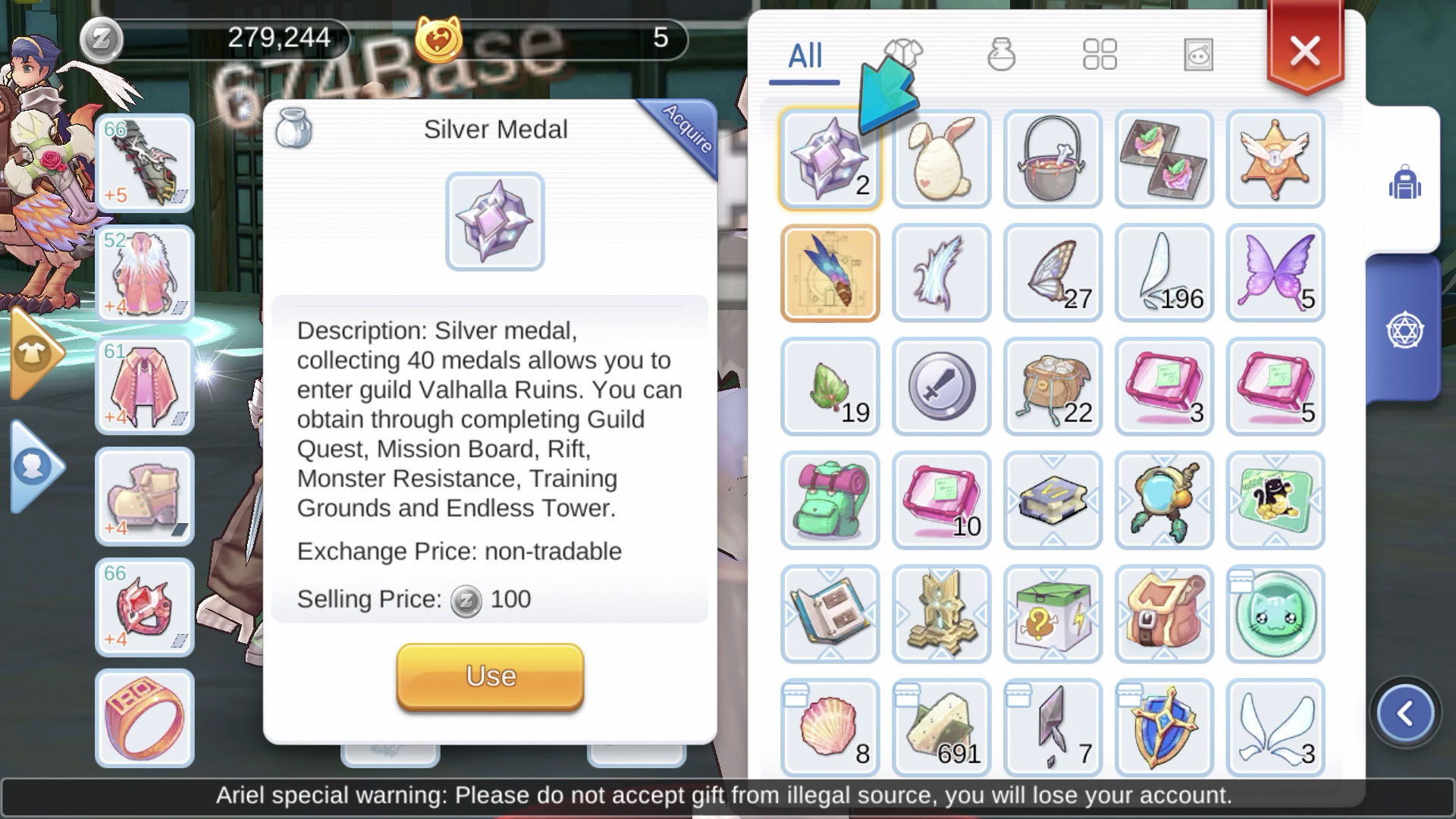Where to Get Silver Medal in Ragnarok M Eternal Love