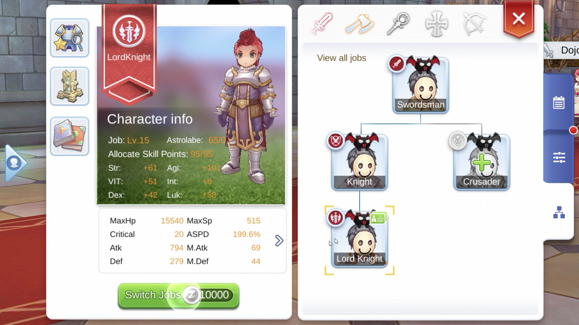 How Multi-Job Switching Works in Ragnarok M Eternal Love – GamingPH com