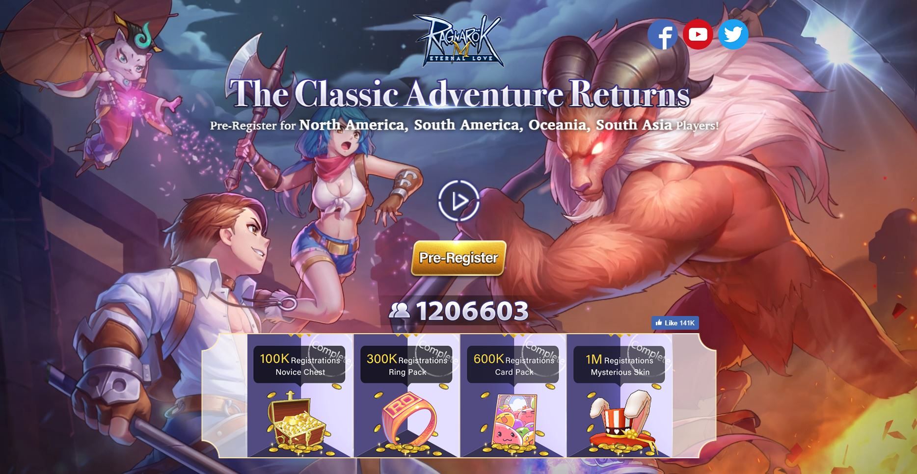 Ragnarok M Eternal Love Global APK Download is Now Available