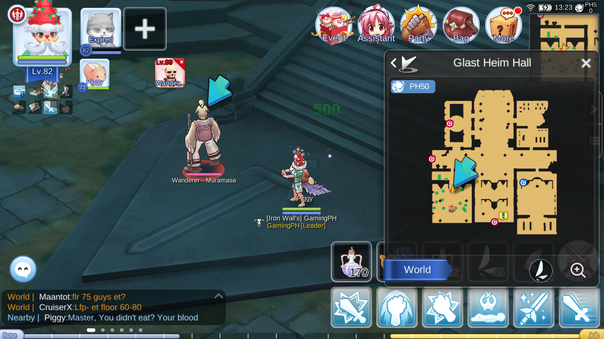 How to Get Life Sword Quest (Mask of Darkness), Glast Heim in