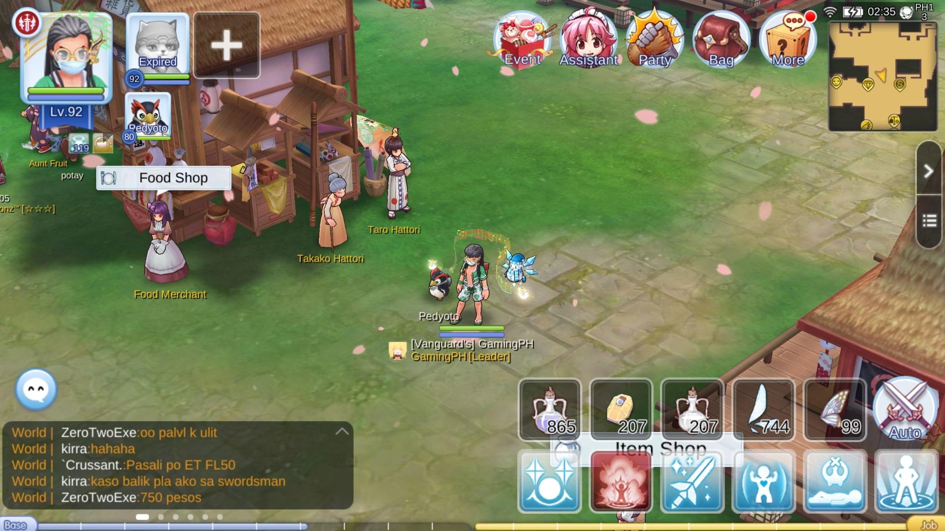 GamingPH com — How to Go to Amatsu (Sakura Quest - Engagement