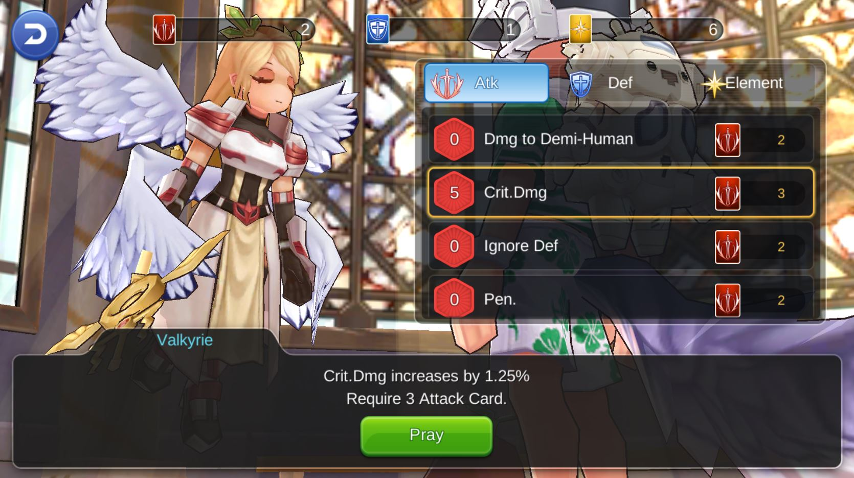 How to increase attack ragnarok mobile